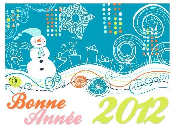 bonne année 2012 cdv1